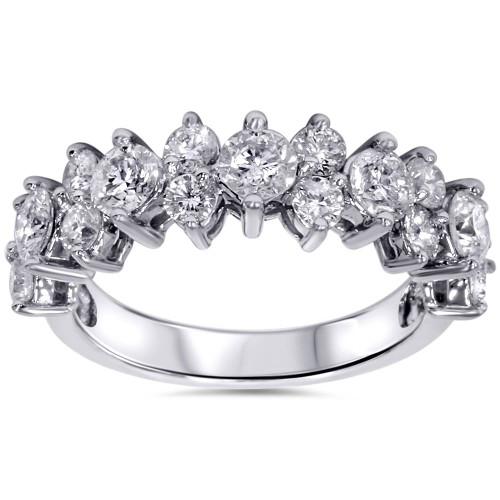 2ct Diamond Ring 14K White Gold (H/I, I1-I2)