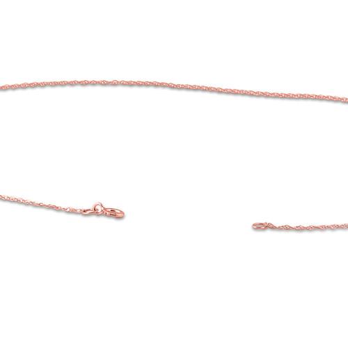 1/2ct Diamond Cross 14K Rose Gold (G/H, I1)