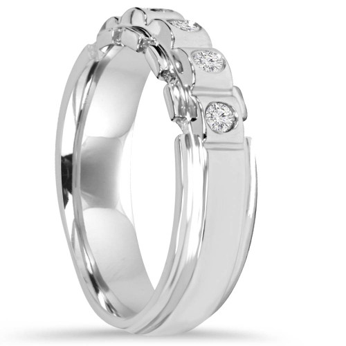 His Hers Diamond SI Wedding Ring Band 14K Set (G/H, I1)