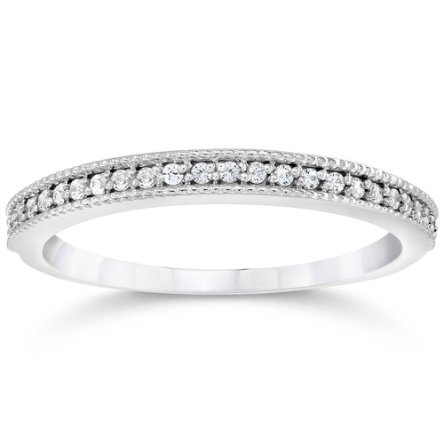 1/3ct Diamond Ring 14K White Gold (G/H, I2-I3)