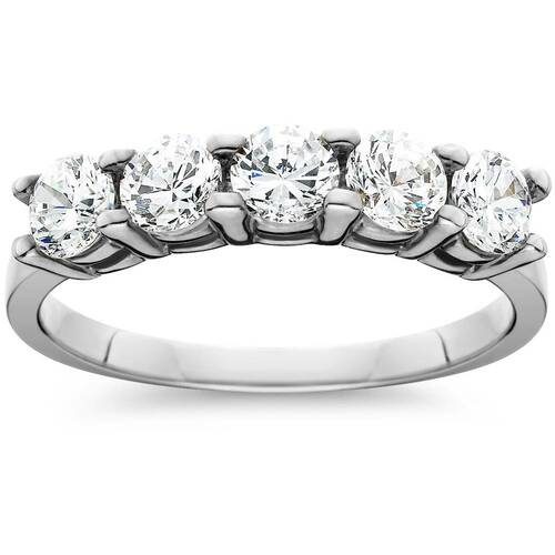 1 1/4ct Diamond Wedding White Gold Anniversary New Ring (J/K, I2-I3)