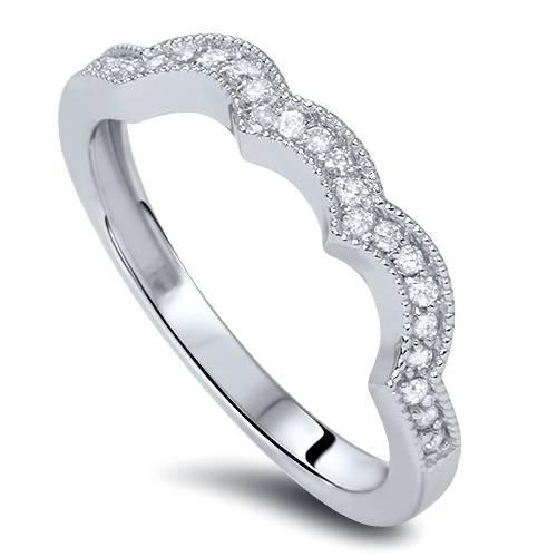 1ct 3-Stone Halo Diamond Engagement Wedding Ring Set 10K White Gold (G/H, I1)