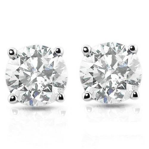 1ct Diamond Studs Platinum ((G-H), SI(1)-SI(2))