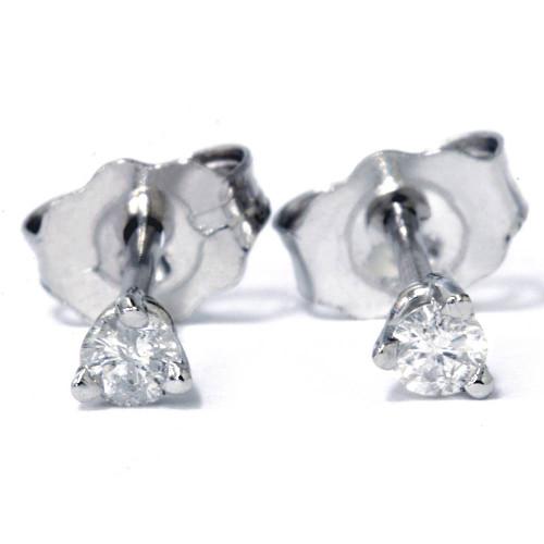 1/6ct Diamond Studs Platinum (G/H, SI)