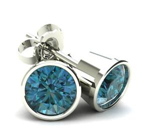 Shop Blue Diamond Studs