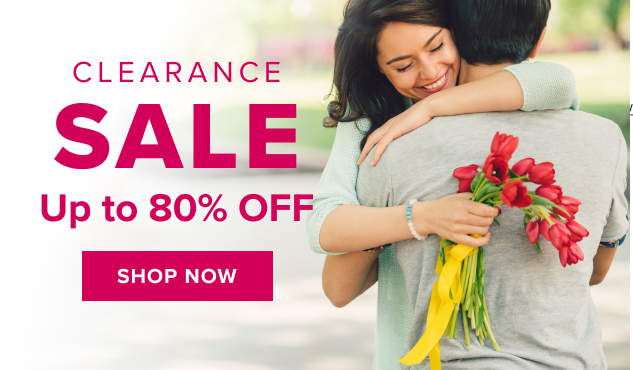 clearance Up to 80% Off