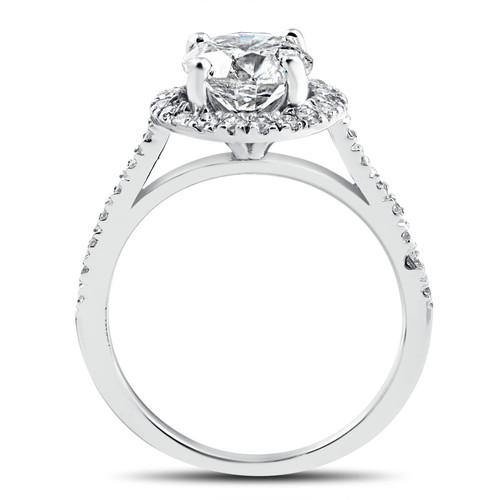 5cb870519c299 2 1 3 ct Round Round Diamond Halo Engagement Ring 14k White Gold Enhanced  (G H