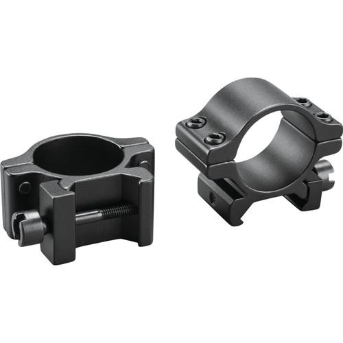 .22-Caliber Medium Aluminum Clam Ring, Matte