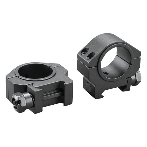 Dual-Purpose 1-inch-to-30mm Low Scope Rings