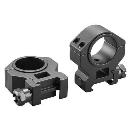 Dual-Purpose 1-inch-to-30mm Medium Scope Rings