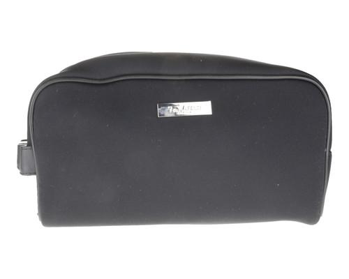 Black Imitation Leather Pouch