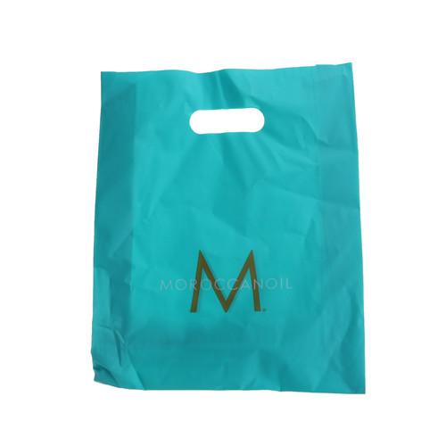 Estee Lauder Navy Blue/Green And White Stripe Large Tote Bag New Morrocanoil Plastic Shopping Bag New