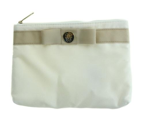 Guerlain Women's White Cosmetic Bag New Cosmetic Bag
