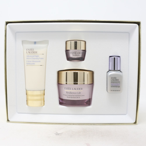 Lift + Firm For Radiant, Youthful-Looking Skin 4 Pcs Set