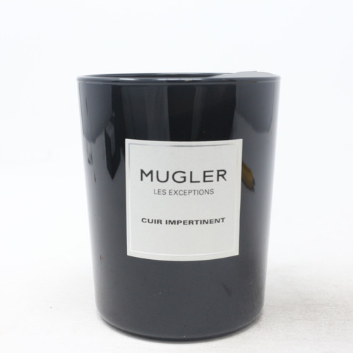 Mugler Les Exceptions Cuir Impertinent Scented Candle 180 g