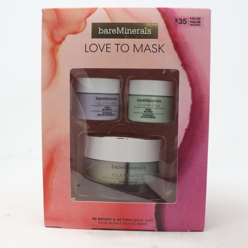 Love To Maks Be Bright & Be Firm Mask 3-Pcs Set