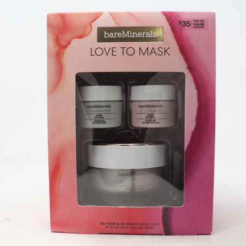 Love To Maks Be Pure & Be Dewy Mask 3-Pcs Set