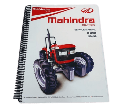 SERVICE MANUAL FOR MAHINDRA TRACTOR, 2 & 4 WHEEL DRIVE (PMSM002WD4WD)