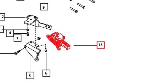SENSOR Accelerator Pedal