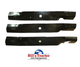 """HEAVY DUTY BLADE  FOR 54"""" HUSTLER SIDE DISCHARGE MOWER  **PRICED PER EACH, QTY 3 REQUIRED"""