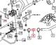 HYDRAULIC HOSE FOR MAHINDRA TRACTOR (19942525000)