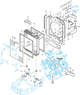 LOWER RADIATOR HOSE FOR M POWER 100 MAHINDRA TRACTOR (19021040110)