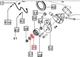 AC BELT IDLER BEARING FOR 7095 MAHINDRA TRACTOR (006008401F1)