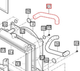 UPPER RADIATOR HOSE FOR e-MAX 22 MAHINDRA TRACTOR
