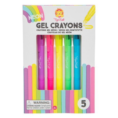 Tiger Tribe Neon Gel Crayons