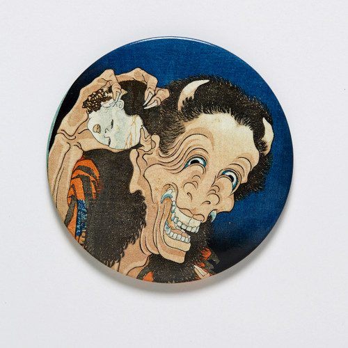 Laughing Demoness Pocket Mirror
