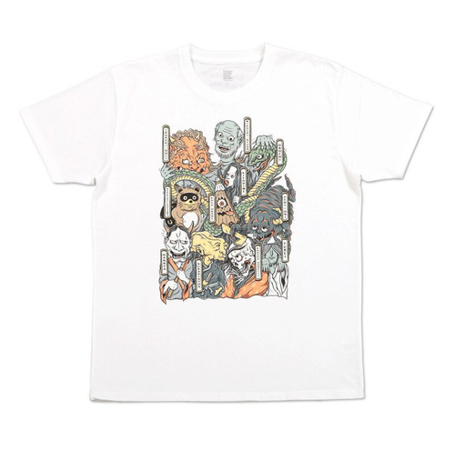 Yokai Gathering Kids T-shirt