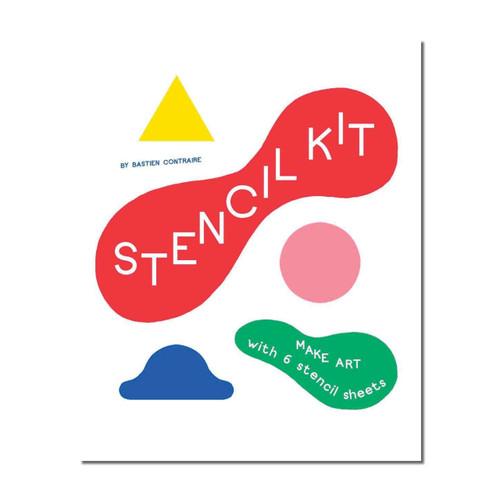 Stencil Art : Make Art with 6 Stencil Sheets