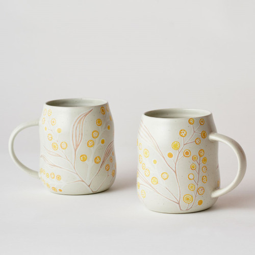 Everyday Mug Set Wattle