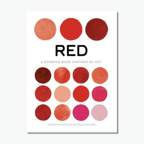 Red (True Colour): A Drawing Book Inspired by Art