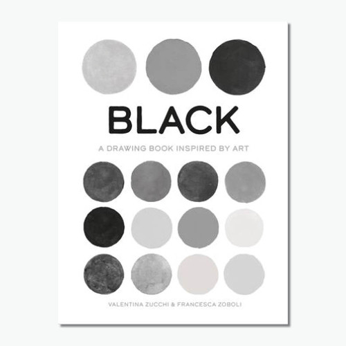 Black (True Colour): A Drawing Book Inspired by Art