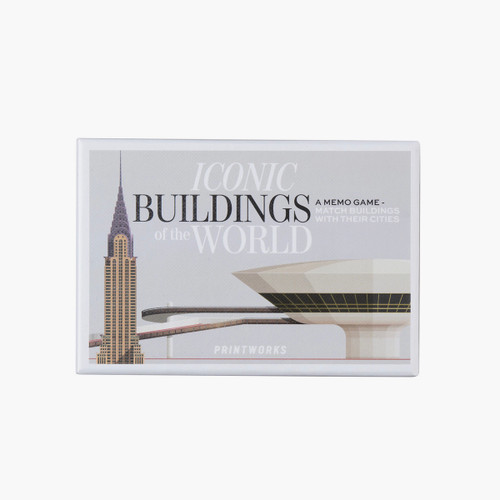 Printworks Famous Buildings Memory Game