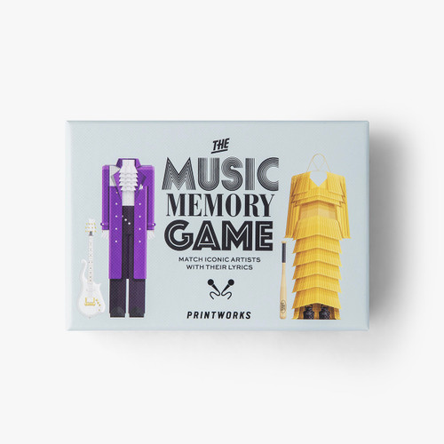 Printworks Music Memory Game