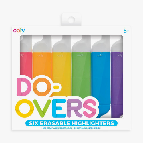Do-Overs Erasable Highlighter Pens