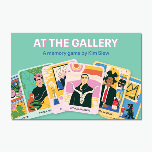 At the Gallery: An Art Memory Game