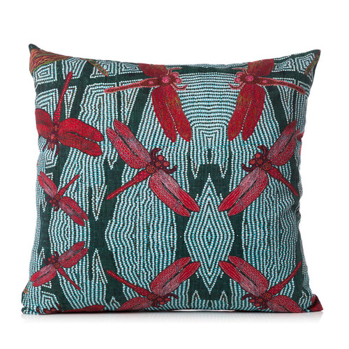 Sheryl J Burchill Rainforest Cushion Cover