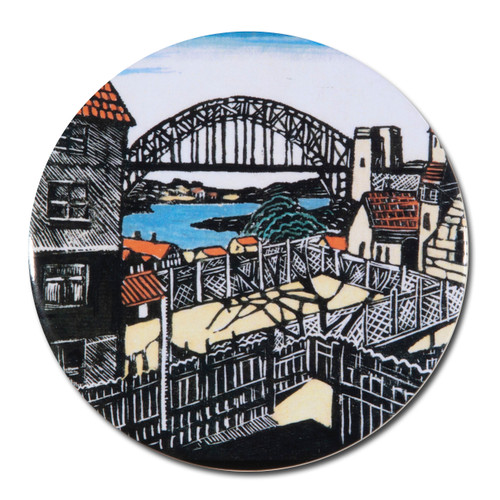 Margaret Preston, Sydney Bridge Pocket Mirror
