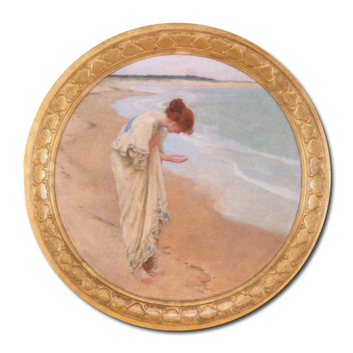 William Margetson, Sea Hath its Pearls Pocket Mirror