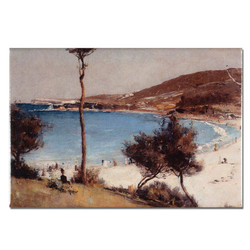 Tom Roberts, Holiday Sketch at Coogee Magnet