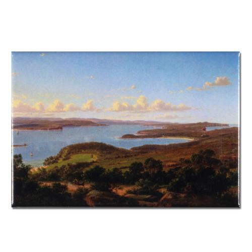Eugene von Guérard, Sydney Heads Magnet