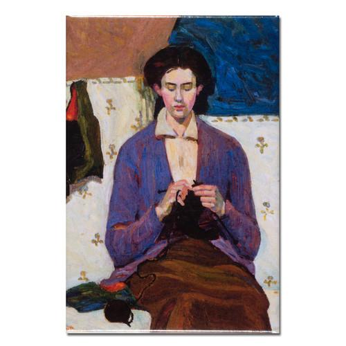 Grace Cossington Smith, Sock Knitter Magnet