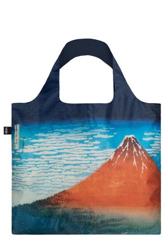 LOQI Hokusai, Red Fuji Shopping Bag