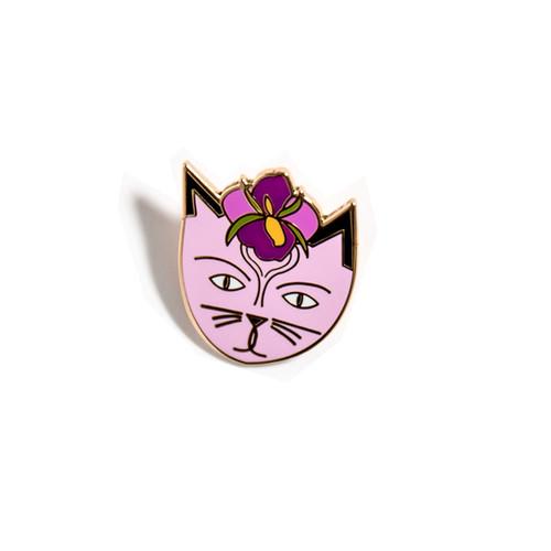 Niaski Georgia O'Cat Enamel Pin