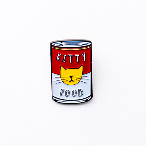 Niaski Kitty Warhol Enamel Pin