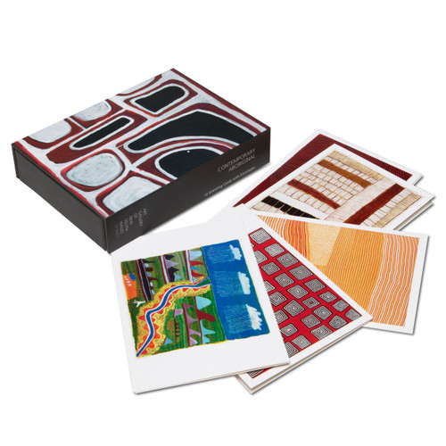 Contemporary Aboriginal Art Boxed Card Set