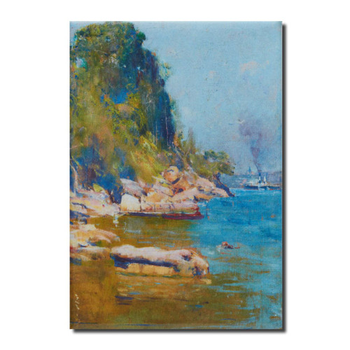 Arthur Streeton, From My Camp Magnet